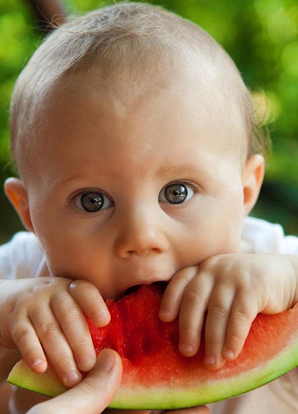 La alimentación vegana en bebes