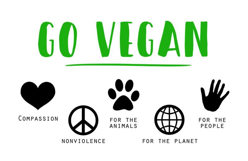Qué significa ser vegano. Veganismo, vegetarianismo